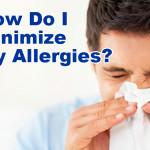 minimize allergies