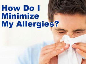 minimize allergies