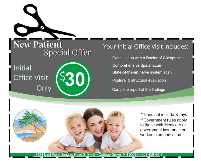 oasis chiropractic coupon